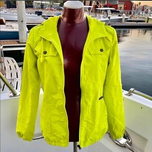 Volvo's meson windbreaker/rain jacket size small